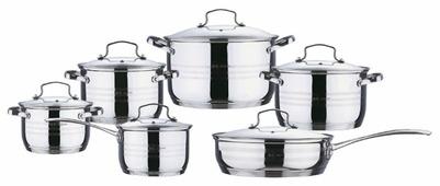 Набор посуды Rainstahl 1214-12RS\CW 12 пр.