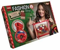 Danko Toys Набор для вышивания лентами и бисером Fashion Bag Цветы (FBG-01-02)
