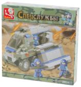 Конструктор SLUBAN Военный спецназ M38-B0201