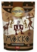 Кофе растворимый Московская кофейня на паяхъ Мокко гранулированный, пакет