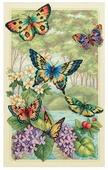 Dimensions Набор для вышивания Butterfly Forest (Лес бабочек) 25 х 41 см (35223)