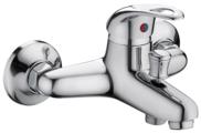 Смеситель для ванны с душем Komrad S21-009 однорычажный лейка в комплекте хром