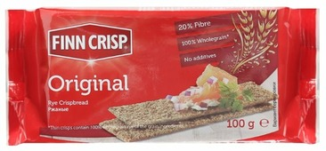Сухарики Finn Crisp ржаные (пакет) 100 г