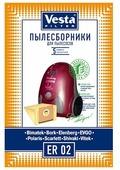 Vesta filter Бумажные пылесборники ER 02