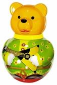 Неваляшка Стеллар Бурый медведь Потапыч, упаковка пакет (01719) 28 см