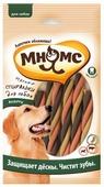 Лакомство для собак Мнямс Мясные спиральки Здоровье зубов и десен