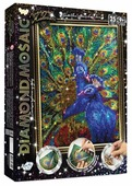 Danko Toys Набор алмазной вышивки Diamond Mosaic Павлин (DM-02-03) 22х31 см