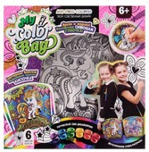 Danko Toys Сумка-раскраска My Color Bag мини Пони (mCOB-01-02)