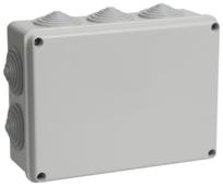 Распределительная коробка IEK КМ41243 наружный монтаж 190x140 мм