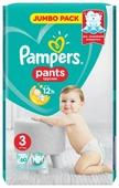 Pampers трусики Pants 3 (6-11 кг) 60 шт.