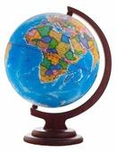 Глобус физико-политический Глобусный мир Двойная карта 420 мм (10406)