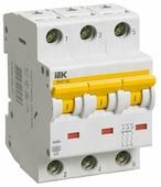 Автоматический выключатель IEK ВА 47-60 3P (C) 6kA