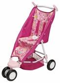 Прогулочная коляска Zapf Creation Baby Born уютная с сеткой (819845)