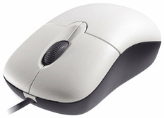 Мышь Microsoft Basic Optical Mouse White USB