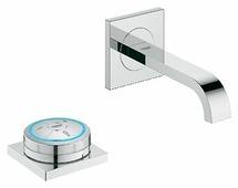 Смеситель для раковины (умывальника) Grohe Allure F-digital 36343000 однорычажный с термостатом встраиваемый хром