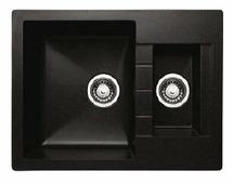 Врезная кухонная мойка Granicom G-017 64х49см искусственный мрамор
