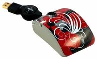Мышь Bodino RED PASSION Black-Red USB