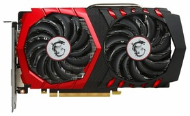 Видеокарта MSI GeForce GTX 1050 Ti 1290Mhz PCI-E 3.0 4096Mb 7008Mhz 128 bit DVI HDMI HDCP GAMING