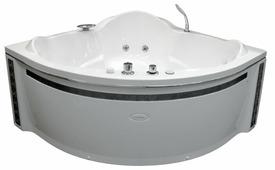 Ванна RADOMIR СОРРЕНТО Chrome акрил угловая