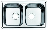 Врезная кухонная мойка IDDIS Strit STR78S2i77