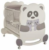 Кровать качалка Feretti Velvet панда