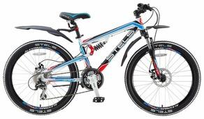 Подростковый горный (MTB) велосипед STELS Navigator 490 MD 24 (2016)