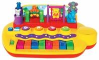 Интерактивная развивающая игрушка Kiddieland Пианино с животными на качелях