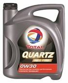 Моторное масло TOTAL Quartz INEO First 0W30 4 л