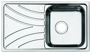 Врезная кухонная мойка IDDIS Arro ARR78SRi77 78х44см нержавеющая сталь