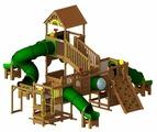 Спортивно-игровой комплекс Rainbow Play Systems Play Village 4B