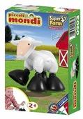 Магнитный конструктор PlastWood Piccoli Mondi Super Farm 0503 Овечка