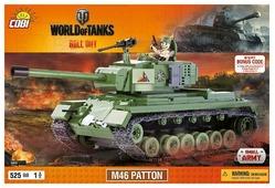 Конструктор Cobi World of Tanks 3008 M46 Паттон