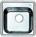 Врезная кухонная мойка IDDIS Strit STR48P0i77 48.5х48.5см нержавеющая сталь