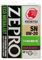 Моторное масло IDEMITSU Zepro Eco Medalist 0W-20 4 л