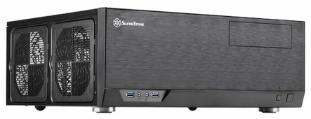 Компьютерный корпус SilverStone GD09B Black