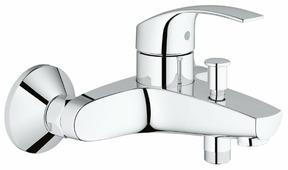 Смеситель для ванны с душем Grohe Eurosmart 33300002 однорычажный хром