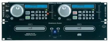 DJ CD-проигрыватель American Audio MCD-510