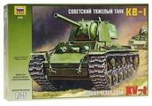 Сборная модель ZVEZDA Советский тяжелый танк КВ-1 (3539) 1:35