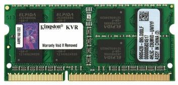 Оперативная память 8 ГБ 1 шт. Kingston KVR16S11/8