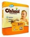 Chikool подгузники L (10-17 кг) 82 шт.
