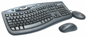 Клавиатура и мышь Microsoft Wireless Optical Desktop 2000 Black USB