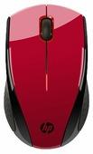 Мышь HP K5D26AA Wireless X3000 Black-Red USB