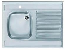 Накладная кухонная мойка FRANKE DSX 711 80х60см нержавеющая сталь