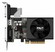 Видеокарта Palit GeForce GT 730 902Mhz PCI-E 2.0 2048Mb 1804Mhz 64 bit DVI HDMI HDCP