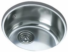 Врезная кухонная мойка TEKA Round 390 45х45см нержавеющая сталь