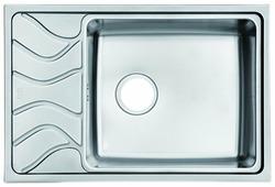 Врезная кухонная мойка IDDIS Reeva REE71SRi77 71.5х48см нержавеющая сталь