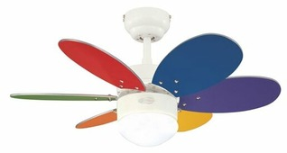 Потолочный вентилятор Westinghouse Turbo II Multicolor