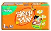 Pampers подгузники Sleep&Play 4 (7-18 кг) 50 шт.