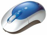 Мышь LEXMA AB610 Silver-Blue USB