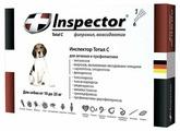Inspector Total C Капли от блох, клещей и гельминтов для собак от 10 до 25 кг